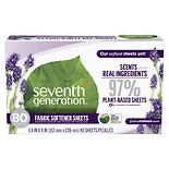 Seventh Generation Natural Fabric Softener SheetsBlue Eucalyptus & Lavender