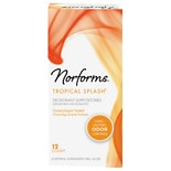 Norforms Long Lasting Feminine Deodorant Suppositories Tropical Splash