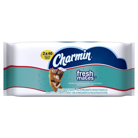 Charmin Freshmates Flushable Wipes 2 pk
