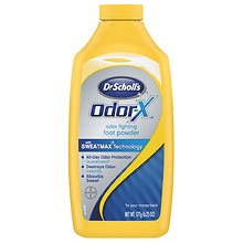 Dr. Scholl's Odor-X Odor Fighting Foot Powder