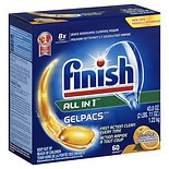 Finish Gelpacs Dishwasher Detergent Orange
