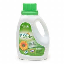 Clorox Green Works Natural Laundry Detergent, Original Scent, 30 Loads