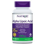 Alpha Lipoic Acid TR Time Release 600 mg Tablets
