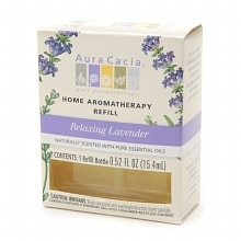 Aura Cacia Electric Aromatherapy Air Freshener Refill Relaxing Lavender