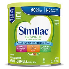 Similac Sensitive For Spit Up, Infant Formula Powder