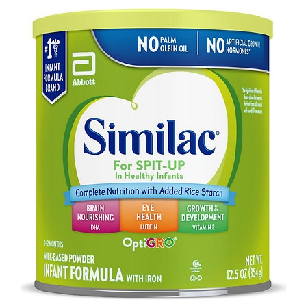 Similac For Spit-Up, Infant Formula with Iron, Powder makes approx. 83 oz