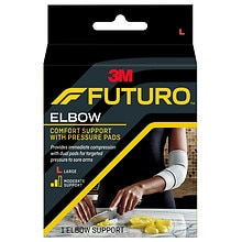 Elbow Support with Pressure Pads Large, Large