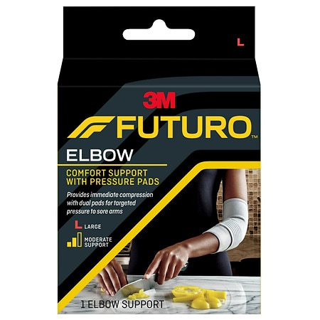 FUTURO Elbow Support with Pressure Pads Large