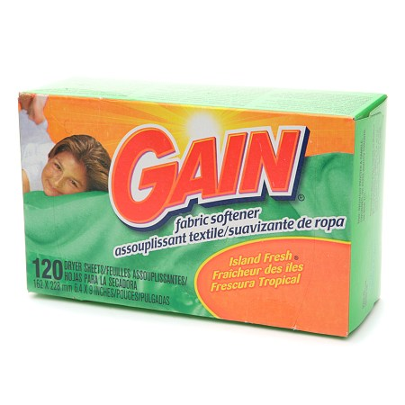 Gain Dryer Sheets Island Fresh