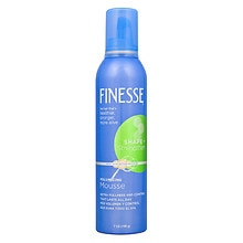 Finesse Self Adjusting Mousse, Volumizing