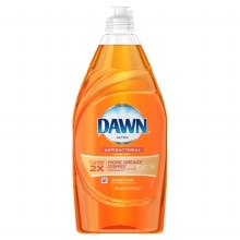 Antibacterial Dishwashing Liquid Orange, Orange