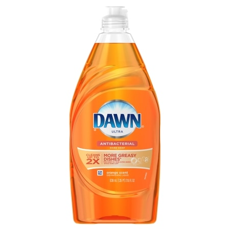 Dawn Ultra Dishwashing Liquid, Antibacteria Orange