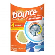 Bounce Dryer Bar Fabric Softener 4 Month Bar Fresh Linen