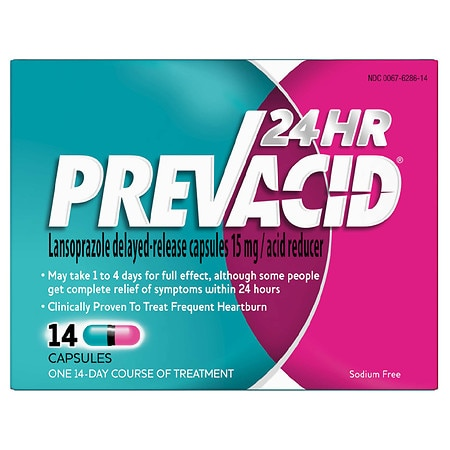 Prevacid24HR Acid Reducer, Delayed-Release Capsules