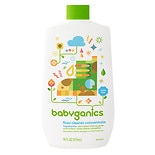 BabyGanics Floors to Adore Floor Cleaner Concentrate, Fragrance Free