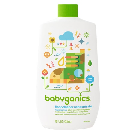 Babyganics Floor Cleaner Concentrate Fragrance Free