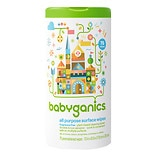 BabyGanics The Grime Fighter All-Purpose Surface Wipes Fragrance Free