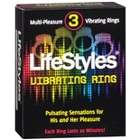 LifeStyles Multi-Pleasure Vibrating Ring
