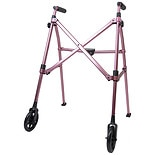 Able Life Space Saver Walker Regal Rose