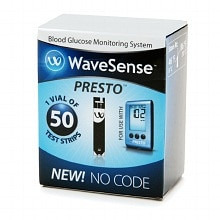 Wavesense Presto, Test Strips
