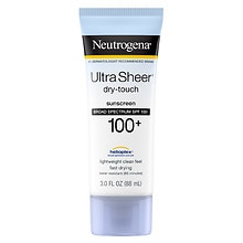 Neutrogena Ultra Sheer Dry-Touch Sunscreen, SPF 100