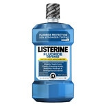 LISTERINE Fluoride Defense Anticavity Mouthwash Mint Shield