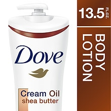 Dove Cream Oil Body Lotion Shea Butter