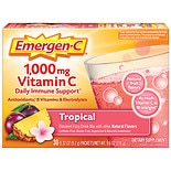Emergen-C 1000 mg Vitamin C Dietary Supplement Tropical Fizzy Drink Mix Tropical