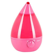 Crane Drop Shape .9 Gallon Cool Mist Humidifier 1 gallon Pink