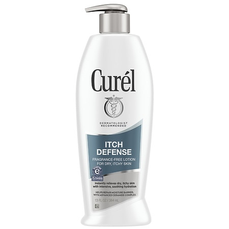 Curel Itch Defense Lotion for Dry Skin for Dry Skin