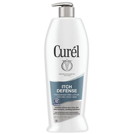 Curel Itch Defense Lotion for Dry Skin Fragrance Free