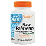 Doctor's Best Best Saw Palmetto Standardized Extract, 320mg, Softgels