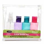 4 Piece Travel Bottle Kit - TSA Approved