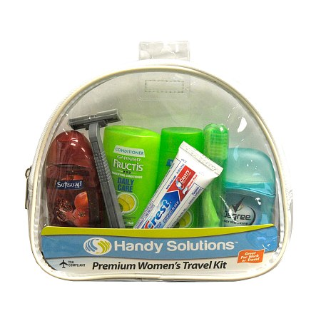 Handy Solutions Premium Women's Travel Kit - TSA Approved