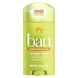 Ban Antiperspirant Deodorant Invisible Solid Sweet Simplicity