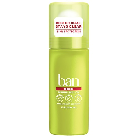 Ban Original Roll-On Antiperspirant / Deodorant Regular