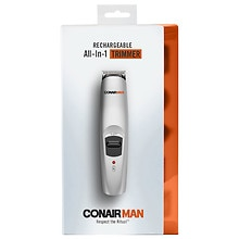 Conair 13-Piece Rechargeable Beard/Mustache Professional Multi-Use Trimmer, GMT189GB