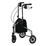 Lumex 3 Wheel Cruiser with Pouch Metallic