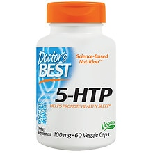 Doctor's Best Best 5-HTP 100 mg Veggie Caps