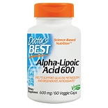 Doctor's Best Best Alpha-Lipoic Acid 600mg, Veggie Caps