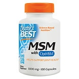 Doctor's Best Best MSM, 1000mg, Capsules