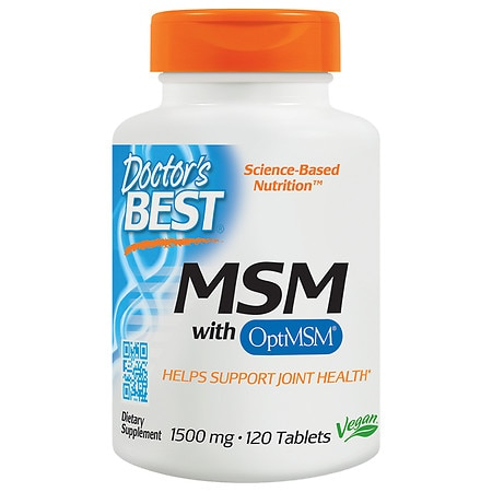 Doctor's Best Best MSM 1500, 1500mg, Tablets