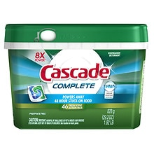 Cascade Complete 2-in-1 ActionPacs Dishwasher Detergent