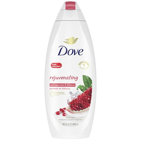 Dove go fresh Revive Body Wash with NutriumMoisture Pomegranate & Lemon Verbena