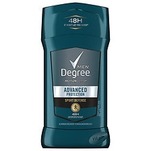 Degree Men Adrenaline Series, Antiperspirant & Deodorant Solid Sport Defense