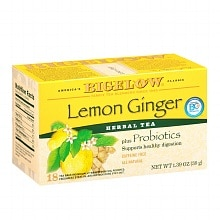 Bigelow Herb Tea Plus Lemon Ginger