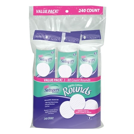 Swisspers Gentle Care Cotton Rounds