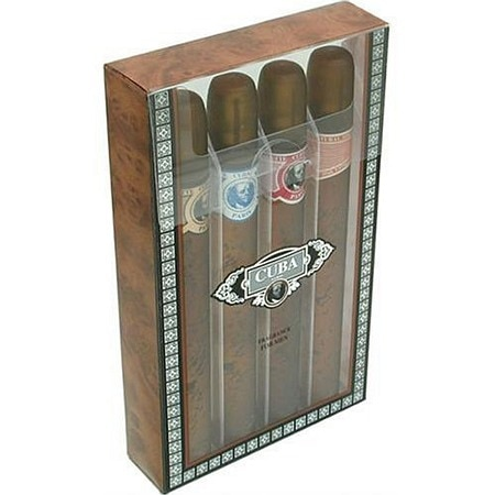 Cuba Classic Mens Spray 4-Piece Gift Set