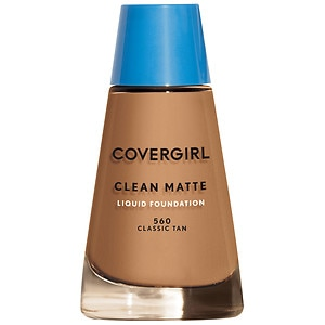 CoverGirl Clean Oil Control Liquid Makeup, Classic Tan 560 - 1 fl oz