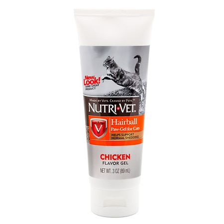 Nutri-Vet Hairball Paw-Gel for Cats Chicken